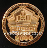 2000 Pro Football HOF Player Pin