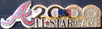 2000 Atlanta All-Star Press Pin MAIN