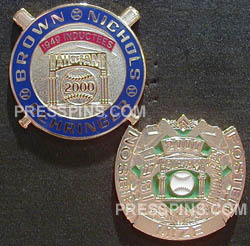 2000 Retroactive Hall of Fame Press Pins MAIN