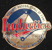 2001 Hall of Fame Press Pin