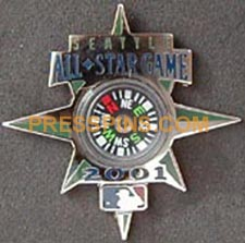 2001 Seattle All-Star Press Pin