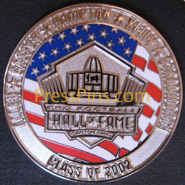 2002 Pro Football HOF Player Pin MAIN