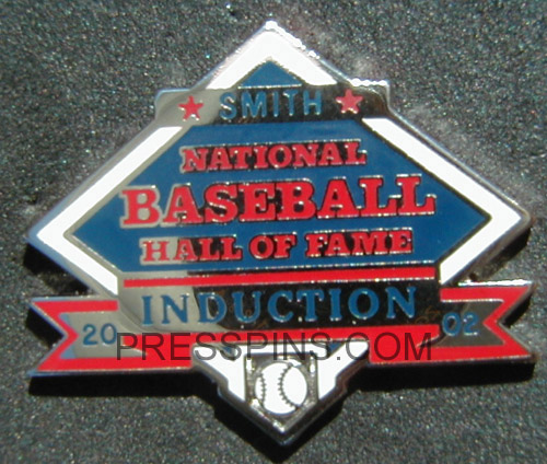 2002 Hall of Fame Press Pin