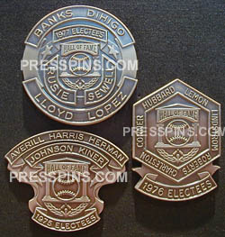 2002 Retroactive Hall of Fame Press Pins