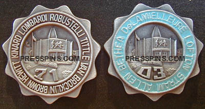 1971/2003 Pro Football Hall of Fame Press Pins