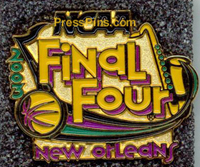 2003 NCAA Final Four Press Pin (New Orleans)