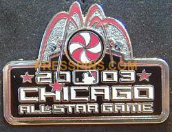 2003 Chicago All Star Press Pin