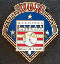 2004 Hall of Fame Press Pin