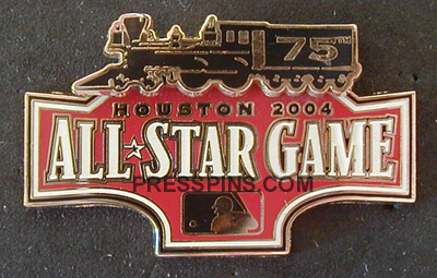 2004 Houston All Star Press Pin