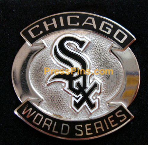 2005 Chicago White Sox World Series Press Pin MAIN