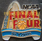 2005 NCAA Final Four Press Pin (St. Louis) MAIN