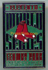 2007 Boston Red Sox World Series Press Pin