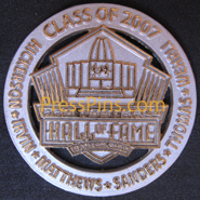 2007 Pro Football HOF Player Pin MAIN