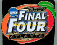 2007 NCAA Final Four Press Pin (Atlanta) MAIN