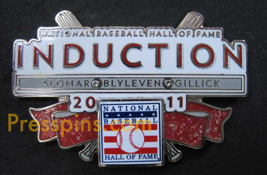 2011 Hall of Fame Press Pin MAIN