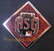 2011 Phoenix All Star Press Pin