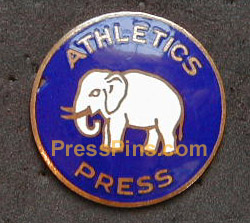 1930 Philadelphia Athletics World Series Press PIn