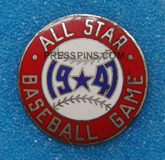 1947 Chicago All-Star Press Pin MAIN