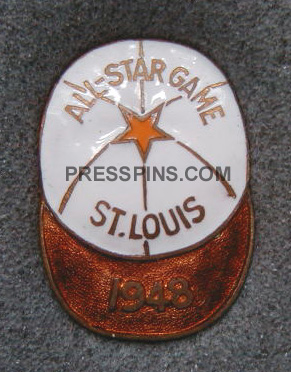 1948 St. Louis All-Star Press Pin