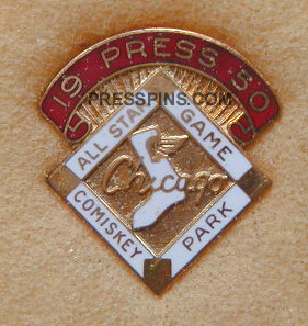 1950 Chicago All-Star Press Pin