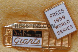 1959 San Francisco Giants World Series Phantom Pre MAIN