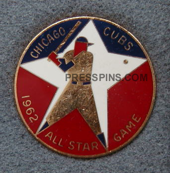 1962 Chicago All-Star Press Pin