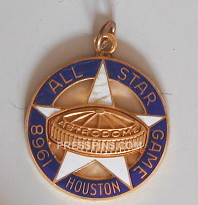 1968 Houston All-Star Press Charm