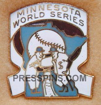 1969 Minnesota Twins World Series Phantom Press Pi MAIN