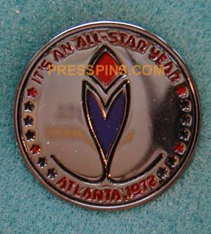 1972 Atlanta All-Star Press Pin