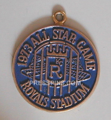 1973 Kansas City All-Star Press Pin MAIN