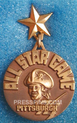 1974 Pittsburgh All-Star Press Pin_MAIN