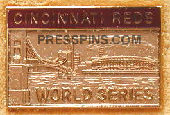 1978 Cincinnati Reds World Series Phantom Press Pi