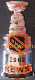 1982 NHL Stanley Cup Press Pin_MAIN