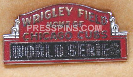1984 Chicago Cubs World Series Phantom Press Pin