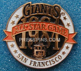 1984 San Francisco All-Star Press Pin_MAIN