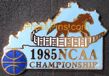 1985 NCAA Final Four Press Pin (Lexington)