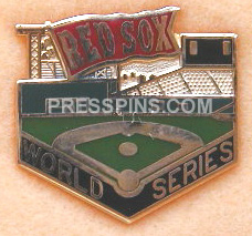 1987 Boston Red Sox World Series Phantom Press Pin MAIN