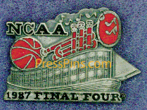 1987 NCAA Final Four Press Pin (New Orleans) MAIN