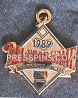 1989 California Angels All-Star Press Charm MAIN