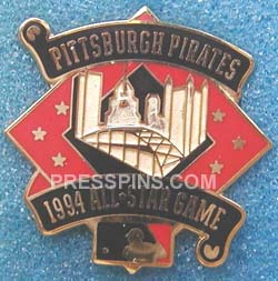 1994 Pittsburgh All-Star Press Pin