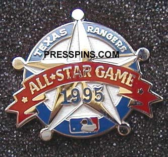 1995 Texas All-Star Press Pin