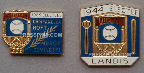 1995 Retroactive Hall of Fame Press Pin