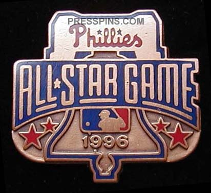 1996 Philadelphia All-Star Press Pin