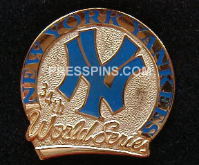 1996 New York Yankees World Series Press Pin