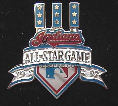 1997 Cleveland All-Star Press Pin