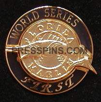 1997 Florida Marlins World Series Press Pin