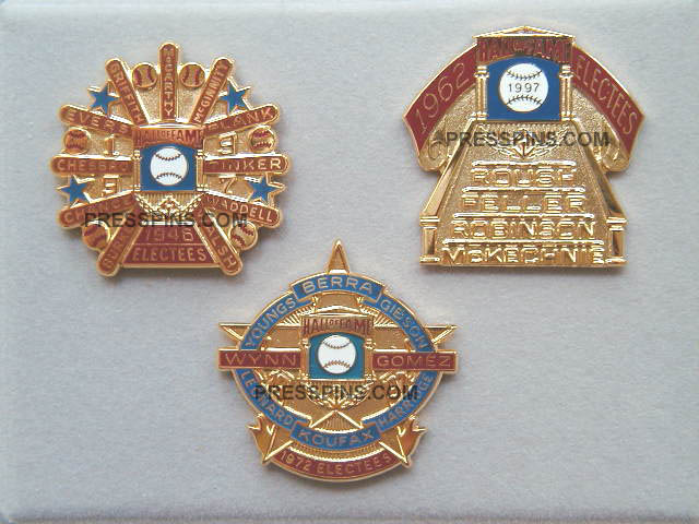 1997 Retroactive Hall of Fame Press Pins
