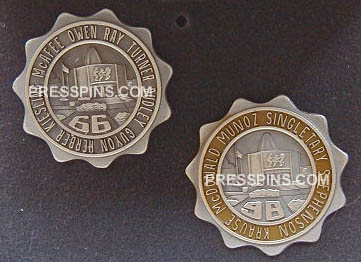 1966/1998 Pro Football Hall of Fame Press Pins