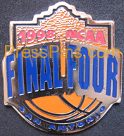 1998 NCAA Final Four Press Pin (San Antonio)
