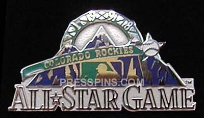 1998 Colorado All-Star Press Pin